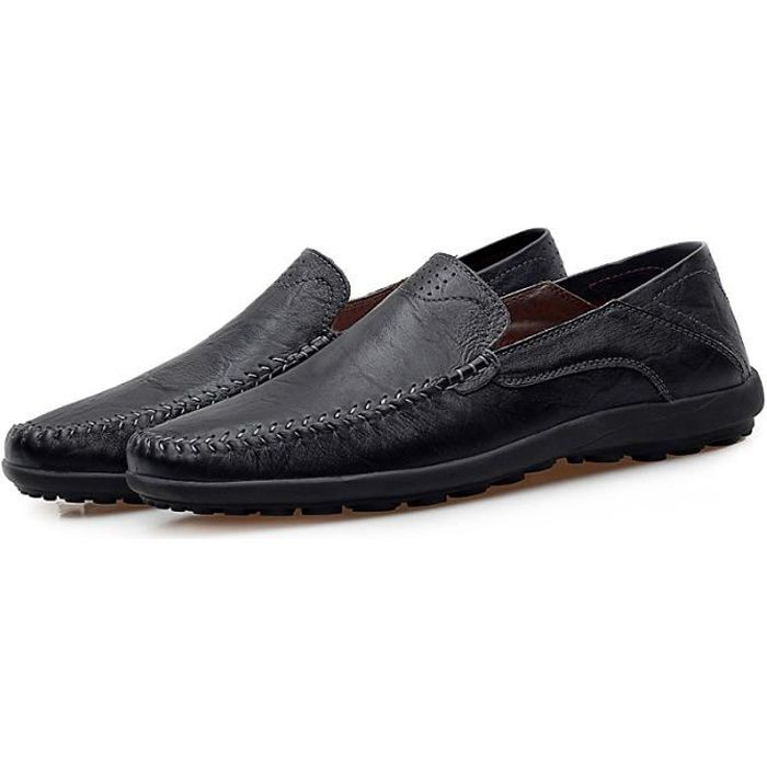 Kianii Mocassins Cuir Chaussures Homme