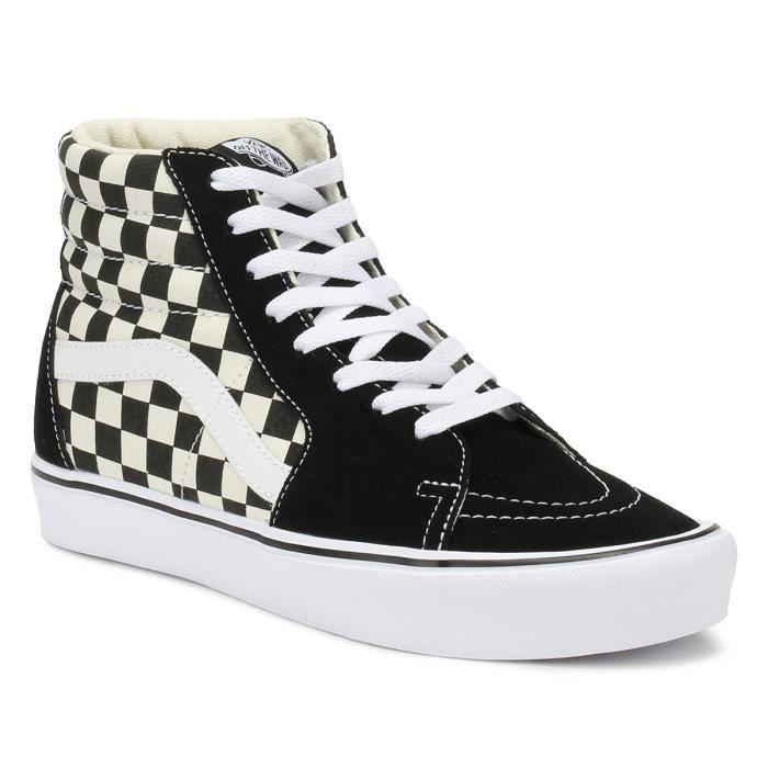 basket vans noir et blanc