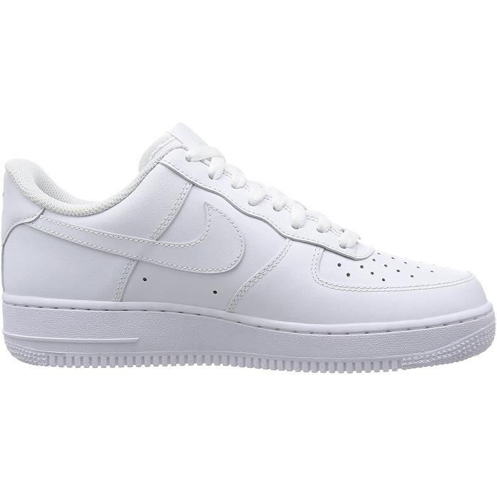 chaussure nike femme air force 1 blanche et noir
