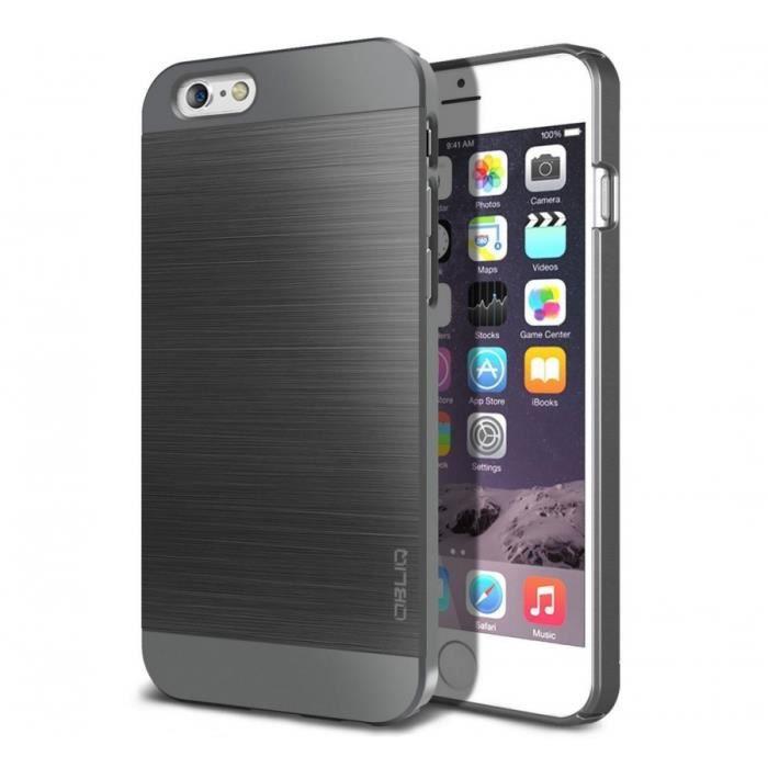 Coque iPhone 6 Plus Obliq Slim Meta Series - Titanium Space Gray ...