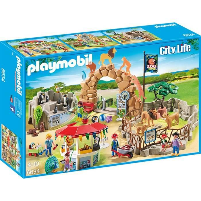 Playmobil city life le zoo achat vente playmobil for Piscine playmobil prix
