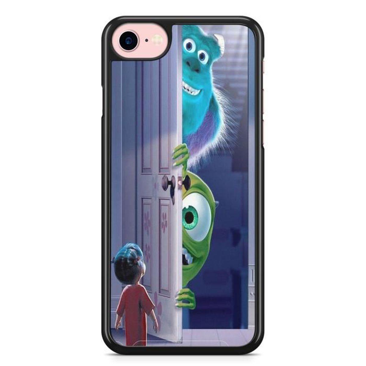 Coque Iphone 6 plus 6S plus Monstre et Compagnie dessin animé etui ...