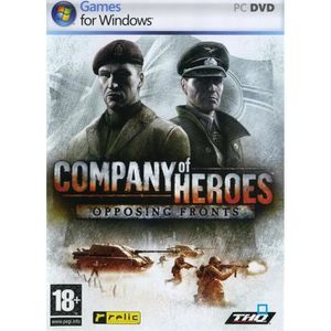 JEU PC COMPANY OF HEROES OPPOSING FRONTS / PC DVD-ROM