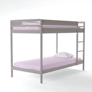 lit superpos achat vente lit superpos pas cher cdiscount. Black Bedroom Furniture Sets. Home Design Ideas