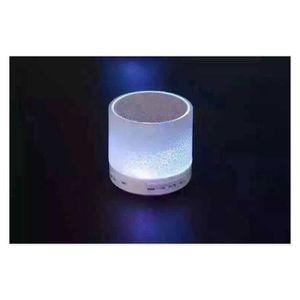 ENCEINTE NOMADE Enceinte lumineuse Bluetooth Design blanche 3 Watt