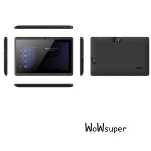 TABLETTE ENFANT  noir 7'' tablette tactile bluetooth pour enfant Q