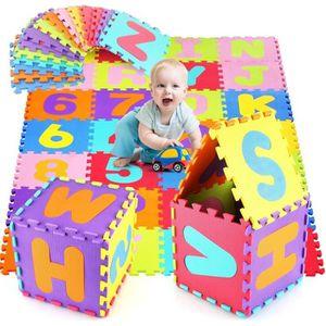 TAPIS DE JEU HOMFA Puzzle Tapis de Jeu Enfant en Mousse EVA, Da