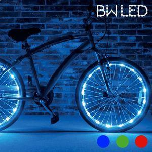 3-Pack de 2 Nite Ize Spoke DEL Mini Spoke Lumières Bleu de sécurité Vélo Indicateurs