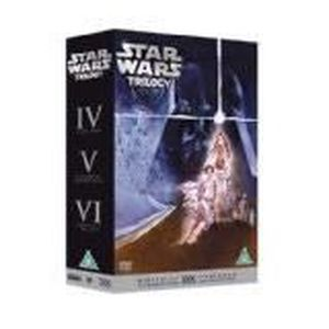 DVD FILM Star Wars Trilogy (Episodes IV - VI) Lucas George