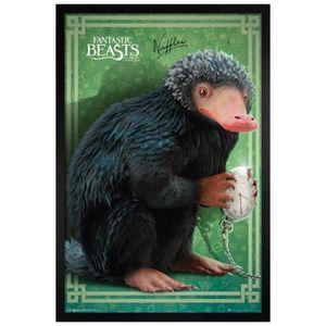 AFFICHE - POSTER Maxi Poster 61 x 91,5 cm cadre en bois noir Niffle