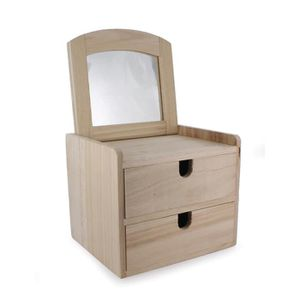 boite en bois a decorer achat vente pas cher. Black Bedroom Furniture Sets. Home Design Ideas