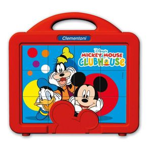PUZZLE MICKEY 12 Baby Cubes Clementoni