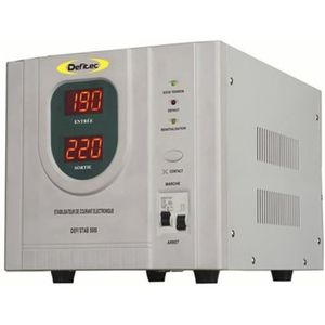 GROUPE ÉLECTROGÈNE DEFITEC Stabilisateur de courant inverter pour gro