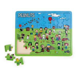 PUZZLE Puzzle en Bois Snoopy et les Peanuts Terrain de Je