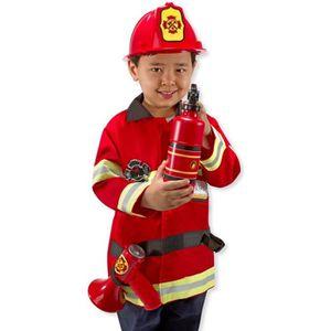 DÉGUISEMENT - PANOPLIE MELISSA & DOUG Costume De Chef Des Pompiers
