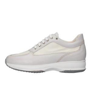 BASKET SABEN SHOES Chaussures Femme Baskets cuir Blanc AJ