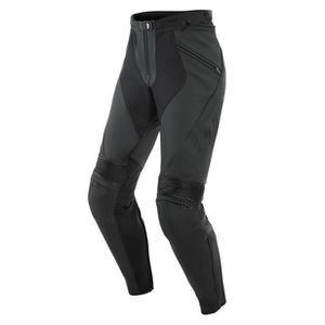 Roleff Racewear Pantalon Cuir avec La/çage Lat/éral Noir 38