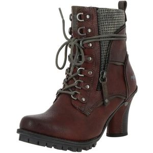 Neuf MUSTANG Chaussures Femmes Chaussures Bottines Bottes Boots Prince de Galles Bottes Femmes