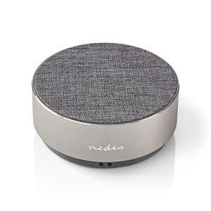 ENCEINTE NOMADE NEDIS SPBT1001GY Haut-Parleur Bluetooth, 9 W, Desi