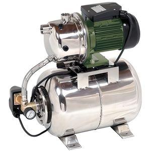POMPE ARROSAGE Surpresseur inox 24L avec pompe autoamorçante 970W