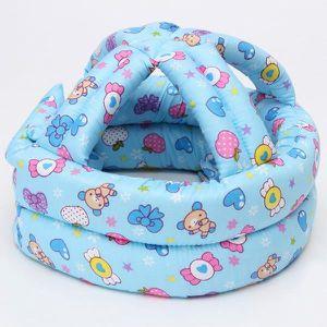 CASQUE ENFANT Casque bonnet de protection tête bébé sécurité dom