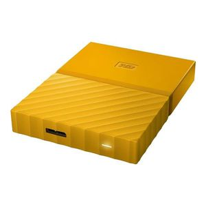 DISQUE DUR EXTERNE WESTERN DIGITAL My Passport - 3To - Jaune