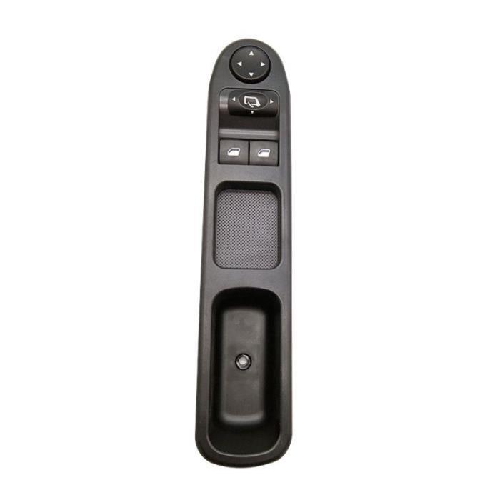 Lève-vitres,Interrupteur pour fenêtre, conducteur avant-gauche, commande principale électrique, pour Peugeot 307 2000 2005