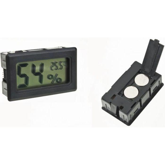 Thermometre Hygrometre - DIGITAL LCD - Cave à vin