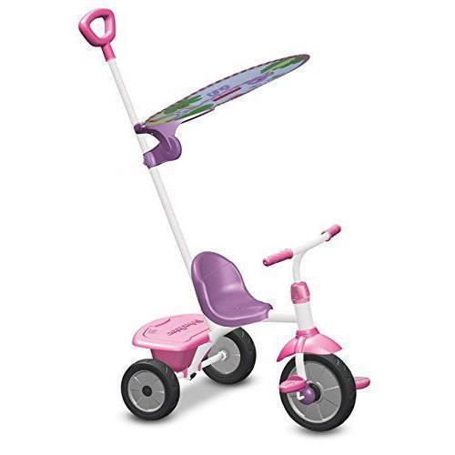 Fisher Price - Fp3300233 - Le Tricycle Smart - Trike Glee Plus - Véhicule - Rose/blanc/lilas