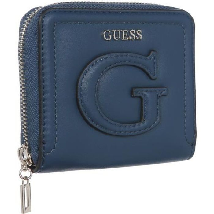 GUESS Portefeuille Femme Marine