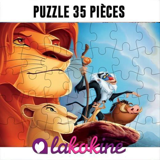 Puzzle 35 Pièces le roi lion Disney anime