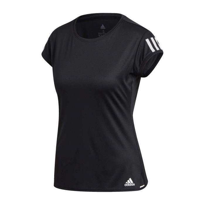 adidas Club 3-Streifen Femmes Haut tennis noir