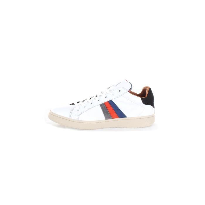 Serafini UBOR01 chaussures de tennis Faible Homme blanc