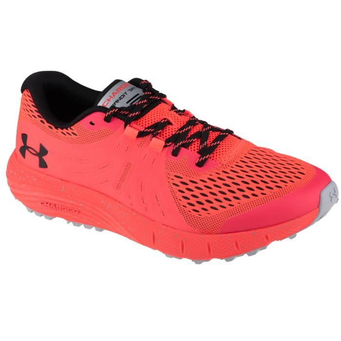 Under Armour Charged Bandit Trail 3021951-600, Homme, Rouge, chaussures de running