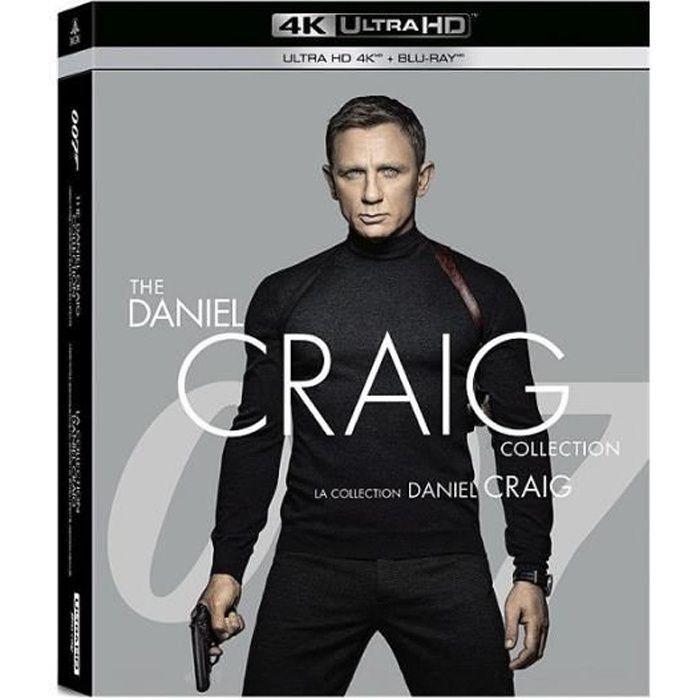 Coffret James Bond / Daniel Craig 4 Films : Casino Royale Quantum Of Solace Skyfall Spectre [Combo Blu-Ray, Blu-Ray 4K]