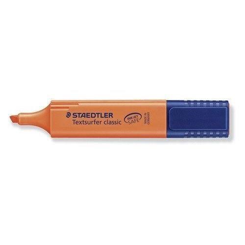 Staedtler Textsurfer Classic 364 Surligneur Orange fluo Lot de 10