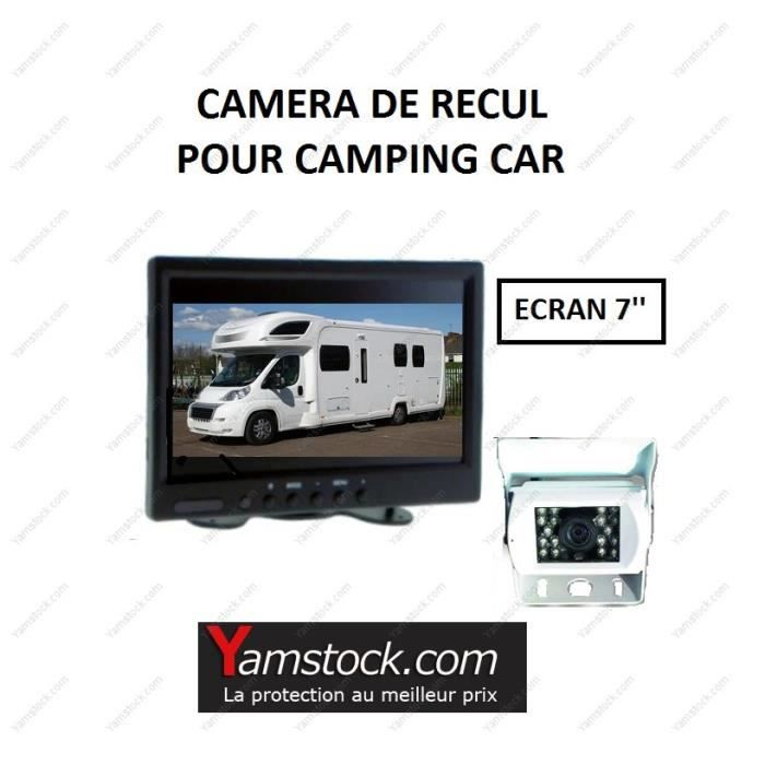 pack camera de recul pour camping car cran 7 39 achat vente radar de recul pack camera de. Black Bedroom Furniture Sets. Home Design Ideas