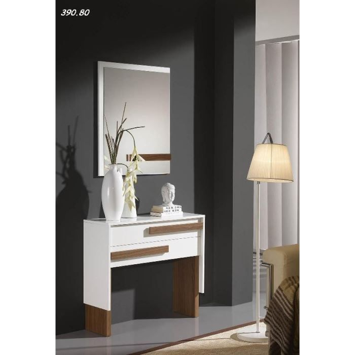 meuble commode entree avec miroir. Black Bedroom Furniture Sets. Home Design Ideas