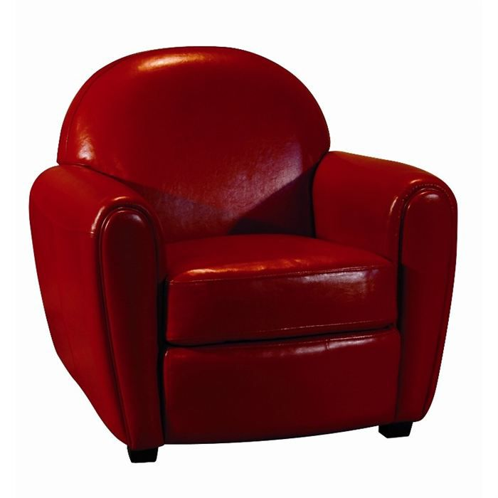 fauteuil club rouge pas cher table de lit a roulettes. Black Bedroom Furniture Sets. Home Design Ideas