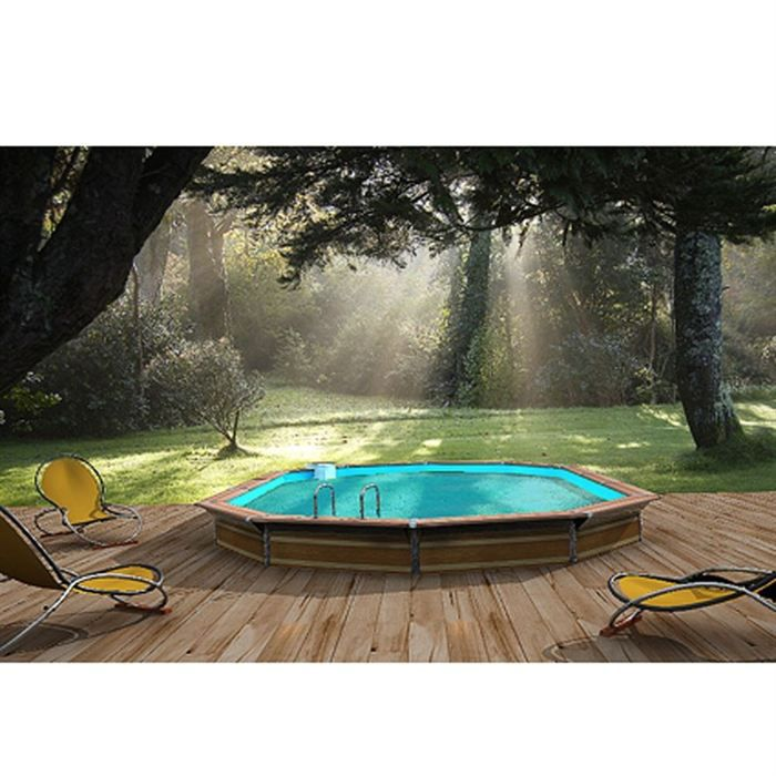 piscine bois alu waterclip 811x477x147 optimum achat vente piscine piscine 8 11 x 4 77 x 147. Black Bedroom Furniture Sets. Home Design Ideas