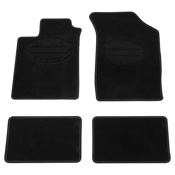tapis de sol voiture carpoint peugeot noir achat vente tapis de sol tapis de sol. Black Bedroom Furniture Sets. Home Design Ideas