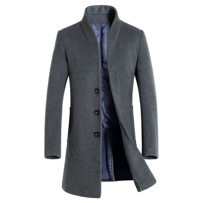 MANTEAU - CABAN Manteau homme en laine de nouvelle collection d'au