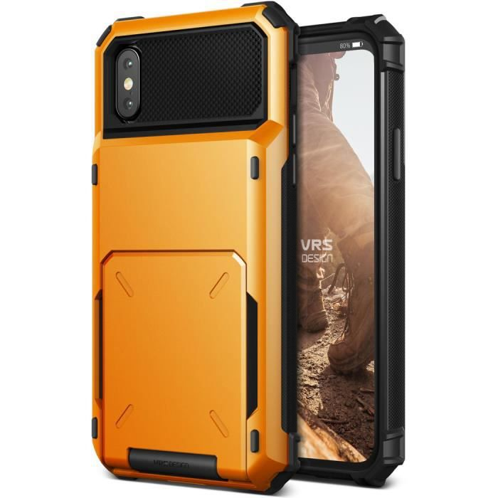 coque iphone x vrs design damda folder volcano