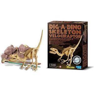 HISTOIRE - GEO Velociraptor - Déterre ton Dinosaure - Dig a dino