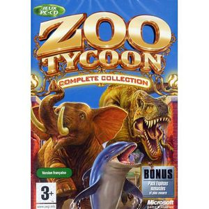 JEU PC ZOO TYCOON Complete collection