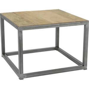 Table Basse Bois Recycl Achat Vente Table Basse Bois Recycl Pas Cher Cdiscount