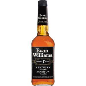 WHISKY BOURBON SCOTCH Spiritueux - Bourbon Evan Williams Black Label