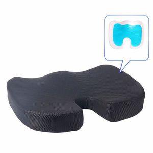 COUSSIN DE CHAISE  Coussin de siège rehaussé de gel - Coussin orthopé