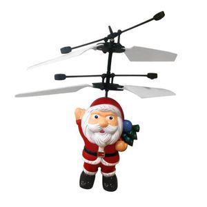 Hélicoptère électrique télécommandé Père Noël à induction