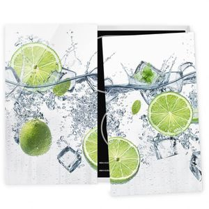 PLAQUE INDUCTION Couvre plaque de cuisson - Refreshing Lime - 52x60